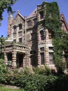 popular from 1840 to 1900 richardsonian romanesque style jordan house in auburn maine designed - Mansion Architectural Styles