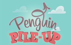 Penguin Pile Up by Mr Huddle, via Behance