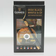 Guinness Irish Tin Whistle with Instruction Book & CD   The Irish Store