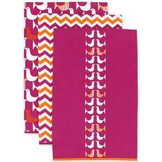 Happy Chic by Jonathan Adler Katie Set of 3 Kitchen Towels - jcpenney
