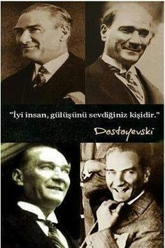 ( Mustafa Kemal Atatürk ) - '' The one you love his/her smile is the good person. Best Hotels In Istanbul, Turkey History, Photo D Art, Fathers Love, Great Leaders, World Peace, Guys Be Like, Her Smile, Held