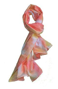 Pañuelos - Pañuelo cuello estampado - hecho a mano por indigoestampacion en DaWanda 15,00 €