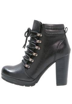 Anna Field Ankle Boot black Schuhe bei Zalando.de | Obermaterial: Hochwertiges Lederimitat, Innenmaterial: Textilfutter, Sohle: Kunststoff, Decksohle: Lederimitat | Schuhe jetzt versandkostenfrei bei Zalando.de bestellen!