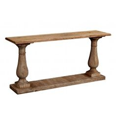 Console table option - behind sofa with lamps
