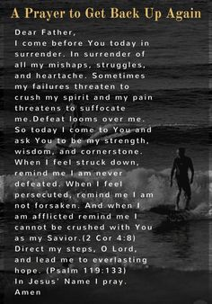 Thank you Father that I can come to You. Thank you for Your compassion and mercy