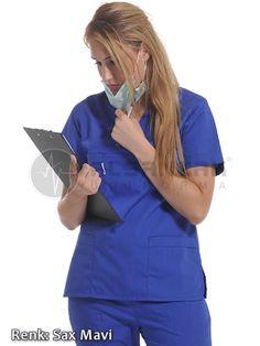 Hemşire Forması - Bayan V Yaka Alpaka Cerrahi Hemşire Forması  #doktor #hemşire #doktorönlüğü #alsancaküniforma #izmir #moda #laborant #üniforma #uniforma #medikal #medical #scrubs #forma #doktor forması #hemşire forması #yarasakol #önlük #hakimyaka #sporyaka #hamileforması #hamile #başhemşire #hastane #tıbbi #tekstil
