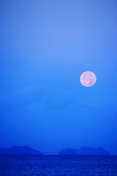 Full Moon In The Morning - Japan