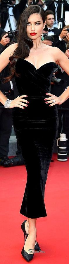 #Adriana #Lima in Ulyana Sergeenko♔ Cannes Film Festival 2015 Red Carpet ♔ Très Haute Diva ♔