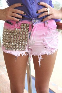LOVE these!! #shorts #studs #fashion