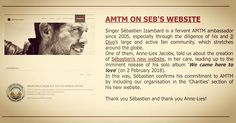 Thank to our friends at #AMTM for mentioning @sebdivos new website in their latest newsletter as well as the upcoming release of We Came Here to Love! Soon well have much more fundraising news for you all so watch this space!  __________________________  #wecameheretolove #wecameheretolovetour #sebsoloalbum #seblive #teamseb #sebdivo #sifcofficial #ildivofansforcharity #ildivo #sebastienizambard #singer #band #popstar #vip #musiclovers #music #composer #producer #artist #charityambassador…