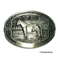 Vintage from Rare and hard to find. From Tony Lama Horse Breeder Series . Brass Belt Buckles, Solid Brass, Horses, Belts, Painting, Vintage, Painting Art, Paintings, Vintage Comics