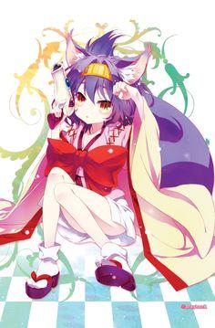 No Game No Life, Izuna, by playback i love the anime.