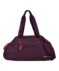 Take a look at this Plum Lia Yoga Bag by Sherpani on #zulily today! $40 !!