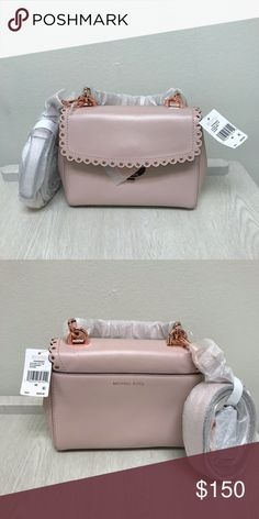 5057362605d5 Shop Women s Michael Kors Pink size OS Crossbody Bags at a discounted price  at Poshmark.