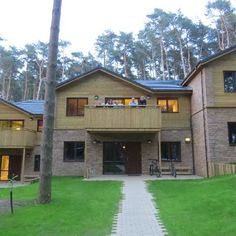 Woburn Forest Center Parcs, What our lodge will look like, split level