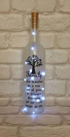 Bottle Crafts Bottle DIY DIY Bottle Wine Bottle Bottle Lights bottle crafts diy 38 Magical DIY Crafts With Wine Bottle That Will Amaze You - Page 4 of 38 - Veguci Wine Bottle Gift, Empty Wine Bottles, Glass Bottle Crafts, Painted Wine Bottles, Lighted Wine Bottles, Diy Bottle, Bottle Lights, Bottle Art, Wine Glass
