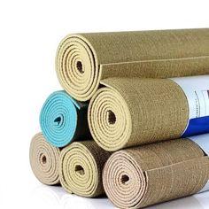 Jute Linen Yoga Mat With Yoga Mat Bag - Faydalı Bitkiler Yoga Matt, Yoga Pants Outfit, Face Yoga, Yoga Mat Bag, Yoga Gifts, Online Yoga, Natural Linen, Yoga Inspiration, Jute