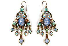 Spice Czech Glass Chandelier Earrings on OneKingsLane.com