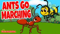 Ants Go Marching ♫ Adventure Story and Song For Kids ♫ by The Learning S... Preschool Songs, Preschool Learning, Fun Learning, Fun Songs, Kids Songs, Counting Songs For Kids, Queen Ant, Movement Songs, Phonics Song