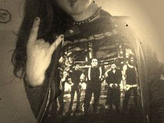Hello to all metalheads! <3 We are one big family - brothers from other misters and sisters from different mothers. So f*uck your shitty opinion, I´m metalhead and I´m proud of it! Hell yeah! AAAND this is RAMMS+TEIN, darling :*