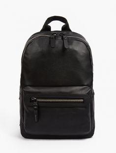 Lanvin,Black Leather Backpack,BLACK,0
