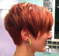 Short Haircuts For Women - 4 #WedgeHairstyles