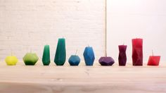 HomeMade Modern, Episode 11 – DIY Bloktagons. The HMM team produced free downloadable geometric templates that can be used to make candles, ...
