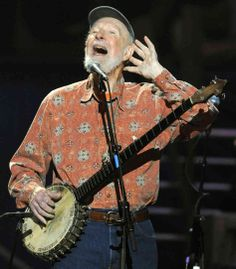 """He was a person who believed deeply that people should sing, in groups, with harmony, in public — and not just in church,"" says @NPR Music columnist Linda Holmes in her tribute to Pete Seeger."