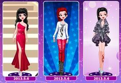 Another set of three looks, this time designed by Freya :) Which is your fave?