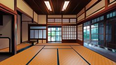 Japanese room by SergeySavvin Episode Interactive Backgrounds, Episode Backgrounds, Anime Backgrounds Wallpapers, Anime Scenery Wallpaper, Galaxy Wallpaper, Japanese Background, Scenery Background, Animation Background, Casa Anime