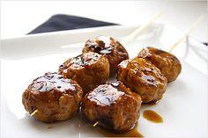 Grilled Chicken Meat Balls / Yakitori Meat Balls