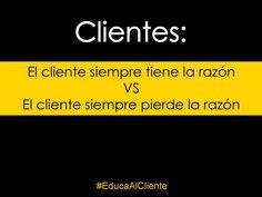 Querido #cliente ;)