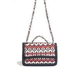 Kavshak Halı Desen Detaylı Deri Çanta Siyah Shoulder Bag, Bags, Fashion, Handbags, Moda, Fashion Styles, Shoulder Bags, Fashion Illustrations, Bag