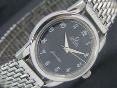 1955's OMEGA SEAMASTER AUTOMATIC SWISS MEN'S WATCH CAL#503 a9834