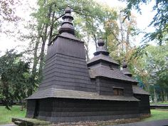 Wooden churches of the Carpathian Mountains. What a beautiful collection of buildings. Do take a look at the full page. Exquisite.