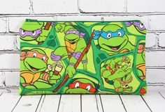 Ninja Turtles Pencil Case Teenage Mutant Ninja by TheCuriousNeedle