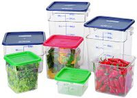 Camsquare Food Container - 12 qt. - Clear