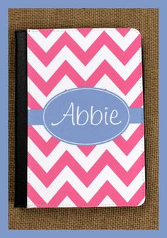 Kindle Fire HD Case Nook Color Notebook Case by ChicMonogram, $38.00