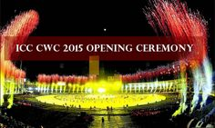 ICC cricket World cup opening ceremony 2015 Live #icc #ec #cwc #wc2015 #cwc2015 #cricket #iccworldcup #worldcup #worldcup2015 #cwcopening #wcopening ceremony #Worldcupopeningceremony #ICCcricketworldcupopeningceremony #cricketworldcupopeningceremony 2015,