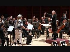 PDQ Bach - Beethoven Symphony No. 5. The sporting event version of Beethoven's Symphony No 5 complete with commentators, a referee, a penalty box and a bass player injury.  Good for reinforcing form with secondary music students (and funny to watch).