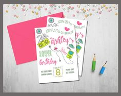 Music Birthday Invitation Kids Music Party Kids Music by TDADesign