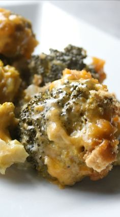Slow Cooker Broccoli Cheese Casserole