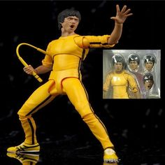 1978 Game of Death Kung Fu Master Bruce Lee Action Figure