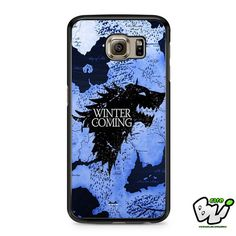 Game Of Thrones Winter Is Coming Samsung Galaxy S6 Case