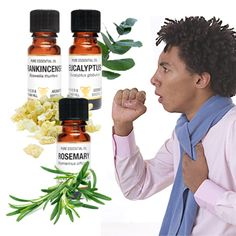 Stuck with a nasty cough that won't go away? Raw throat? Generally fed up? Try this blend to calm things down and give you a rest from those annoying coughing fits. 3 drops Frankincense 1 drop Eucalyptus 1 drop Rosemary 5 ml Base oil or cream for massage. Either blend the above and massage into the chest and neck, add the essential oils to a tissue and inhale regularly or put the oils on your favourite burner or vaporiser.