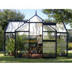 Janssens Junior Orangerie 13 x 10.25-Foot Greenhouse Kit - Greenhouses at Just Greenhouses