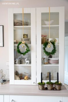 My kitchen on Christmas http://oh-my-home.blogspot.com