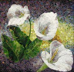 by Lee Ann Petropoulos #Mosaic #art #calla