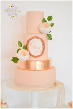 Blush & Rose Gold by Dollybird Bakes