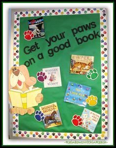 Bulletin+Board+Reading+with+Paws.jpg 1,261×1,600 pixels
